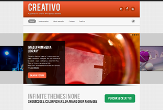 Creativo theme Blogi:Blogging