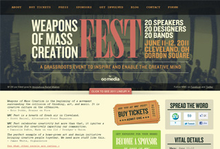Weapons of Mass Creation Fest Pasākumi:Events