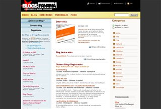Blogs Panama Blogi:Blogging