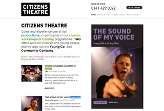Citizens Theatre Izklaide:Entertainment