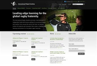 International Rugby Academy Sports:Sports