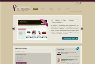 PE Themes Blogi:Blogging