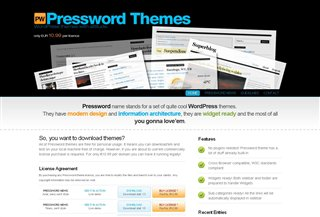Pressword Themes Blogi:Blogging