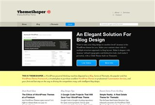 Theme Shaper Blogi:Blogging