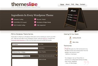 Theme Slice Blogi:Blogging